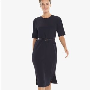 MM LaFleur Elks navy dress size M
